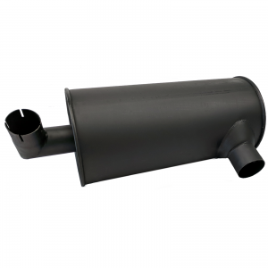 Replacement Muffler for ISUZU 4BD1 Engine, Hitachi EX120-2 Excavator Dual Layer